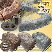 stone border edging