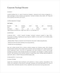 Paralegal Resume Skills Gorgeous 44 Paralegal Resume Templates PDF DOC Free Premium Templates