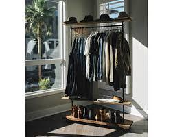 Shoe Rack And Coat Hanger Industrial coat rack Etsy 18