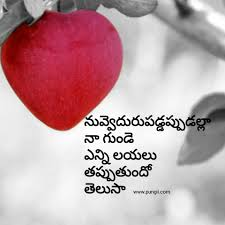 Love Quotes In Telugu Download Pungii