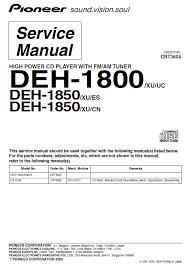 pioneer deh 1800 wiring diagram Pioneer Deh P4100 Wiring Diagram pioneer deh 1800 service manual pdf download pioneer deh-p4100 wiring diagram