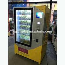 Vending Machine Advertising New Transparent Lcd Vending Machine For Advertising Buy Vending