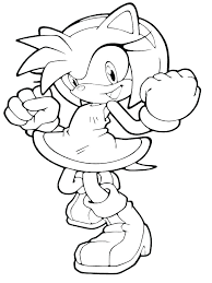 Sonic The Hedgehog Coloring Pages To Print Shadow Coloring Pages