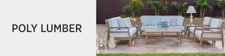 outdoor patio furniture by material