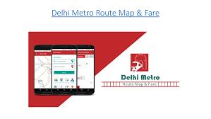 Dmrc Fare Chart Delhi Metro Route Map Fare Application Authorstream