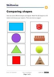 Shape Identification Worksheet Identifying Shapes Worksheets The ...