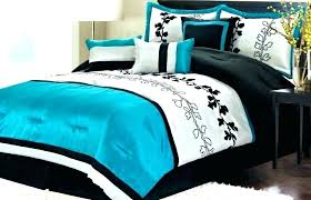 teal queen comforter black and white single bed set king teal queen comforter sets bedding home