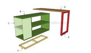 office furniture plans. Building An Office Desk Furniture Plans A