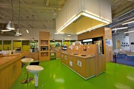 google office california. Here\u0027s One Of The Micro-kitchens Located Everywhere. Employees Don\u0027t Have To Bring Their Own Lunch, Much Less Cook It. They Get Breakfast, Lunch And Dinner Google Office California