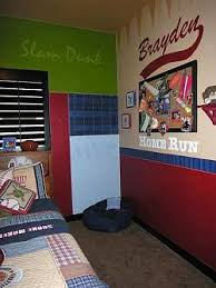 boys bedroom decorating ideas sports. Sports Theme Boys Room Custom Bedroom Decorating Ideas R