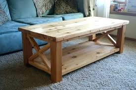 ana white coffee table white coffee table coffee white rustic x coffee table in cedar projects