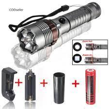 Đèn pin siêu sáng 5 cấp độ 20000LM có thể sạc lại