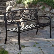 outdoor outdoor metal benches black outdoor bench metal garden bench wrought iron garden bench black