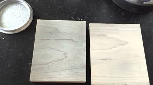 Grey Wash Wood Stain Drift Wood Gray On Hard Maple Stained With Reclamation White Oil