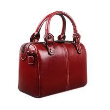 real leather luxury handbag designer tote bag shoulder
