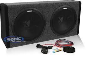 kicker 11phd12 200w dual 12 amplified loaded enclosure kicker 11phd12 phd12 200w bass station