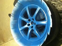 plasti dip on wheels