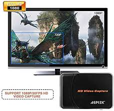 AGPtek® <b>HD</b> Game Capture <b>HD video</b> capture 1080P <b>HDMI</b>/YPBPR ...