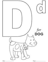 D Coloring Pages Preschool Illuminated Alphabet Coloring Pages