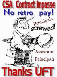 Chazs School Daze The Uft Contract Screws The Csa As Well