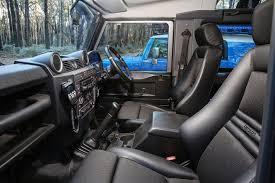 Land Rover Defender Custom Interior