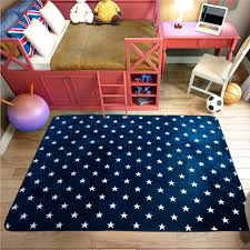 blue bedroom rugs. Delighful Rugs Fadfay Navy Blue Modern Kids Rugs Antislip Bedroom Large Living Room  Carpets To I