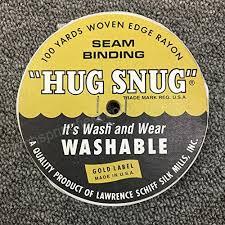 100yds 1 2 Schiff Seam Binding Hug Snug Ribbon Color Chalk