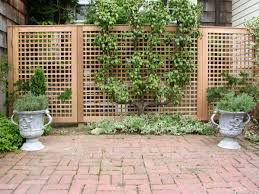 decorative wooden outdoor privacy screen designs amazing home garden design with paved stone