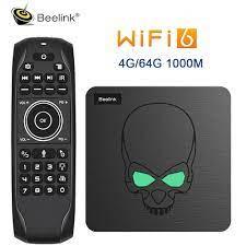 2021 New Beelink GT King WiFi 6 Smart TV BOX Android 9.0 Amlogic S922X Quad  Core 4GB 64GB BT4.1 1000M LAN GTking Set Top Box - Best Sale #FB60