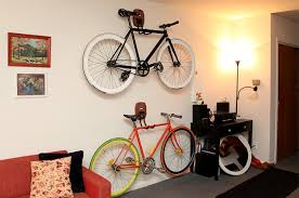 Bike hanger for apartment Minimalist Not Paper House Bike Storage Ideas 30 Creative Ways Of Storing Bike Inside Your Home