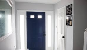 Door painted Behr Marquee Compass Blue | Doors | Inside front doors ...