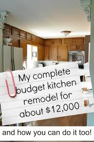 Inexpensive Kitchen Remodeling My Complete Kitchen Remodel Story For About 12000 Jennifer