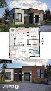 Basement House Plans Designs Modern Economical Bungalow With Walkout Basement 2 Bedroom