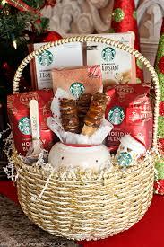 starbucks holiday gift baskets png
