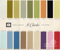 Kitchen Cabinets Colors 18 Colors For 1960s St Charles Steel Kitchen Cabinets Retro