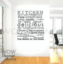 kitchen words wallpaper single word wall decals vinyl wall sticker art kitchen words inspirational word for