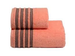 <b>полотенце махр</b>. <b>CLEANELLY Дзефиро</b> 70х130см персиковое ...