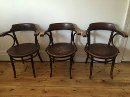 antique thonet chairs for sale. vintage thonet kohn mundus maxwood bentwood cafe kitchen dining arm chairs x 3 antique for sale n