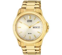 buy citizen men s gold plated eco drive bracelet watch at argos co citizen men s gold plated eco drive bracelet watch277 0558