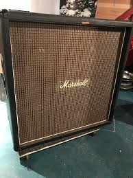 Marshall 4x15 4x15 Bass Cabinet 1970's Black | Philthy | Reverb