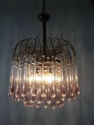 murano glass drops chandelier by paolo venini for venini 1960s 2