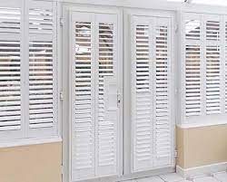 french door shutters plantation