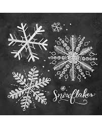 Then format the line for the circle as shown here How To Draw Snowflakes For A Holiday Chalk Art Sign Martha Stewart
