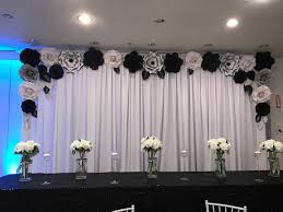 Paper Flower Backdrop Rental Rent Only Paper Flower Backdrop Giant Paper Flowers