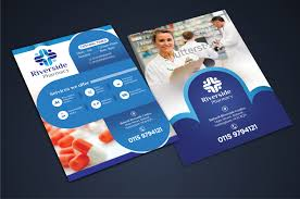pharmacy design company bold modern pharmacy flyer design for a company by designguru
