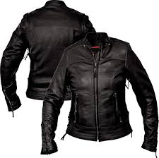 interstate leather women s jazz black leather jacket