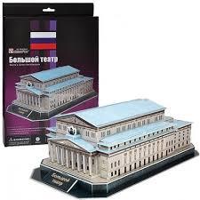 Купить 3D пазл <b>Cubicfun Большой театр</b> (Россия) C149h в ...