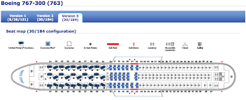 United 767 Seating Chart United Reveals Seatmap For First 767 With New Polaris Seats