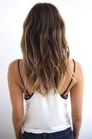 Medium long length hair