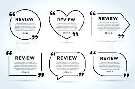 Shop Stock Quote Awesome Quote Comment Template Bubble Shop Customer Review Circle Paper